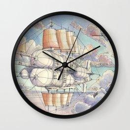 Il Veliero Volante Wall Clock