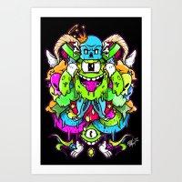 Goon Art Print