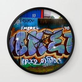 Bubble Tag Wall Clock