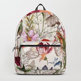 Bright spring field. Romantic pattern Backpack