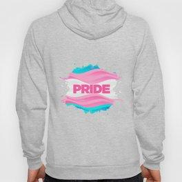Trans Pride Ink Blot Hoody