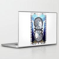 aquarius Laptop & iPad Skins featuring Aquarius by Caroline Vitelli GOODIES