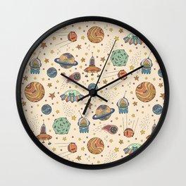 Cute Universe Wall Clock