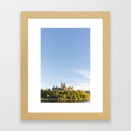 Parliament Hill  Framed Art Print