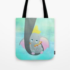 dumbo and his mom Tote Bag