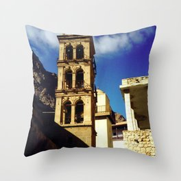 Saint Catherine's Cathedral Throw Pillow