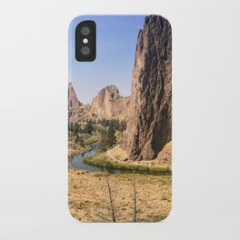 Smith Rock State Park iPhone Case