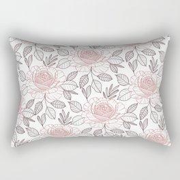 Pink power Rectangular Pillow