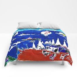 The Marina, Southport, Qld. AUSTRALIA Comforters