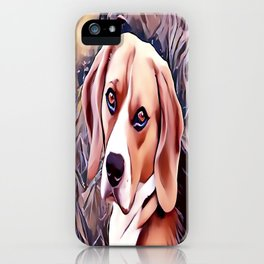 The Beagle iPhone Case