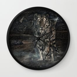 The Ancient Tiger Wall Clock