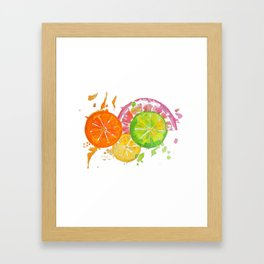 Citrus Burst! Framed Art Print