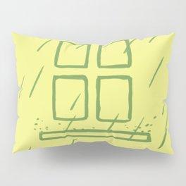 Casa de la lluvia Pillow Sham