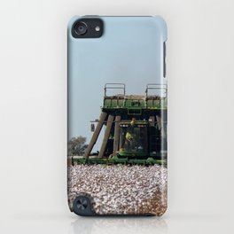 Cotton Picking  iPhone Case