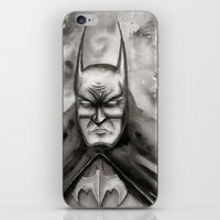 bat iPhone & iPod Skins featuring Bat by rchaem