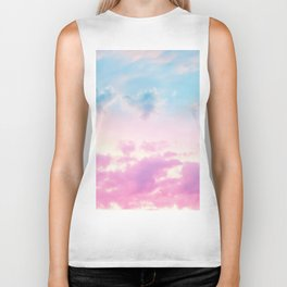 Unicorn Pastel Clouds #3 #decor #art #society6 Biker Tank