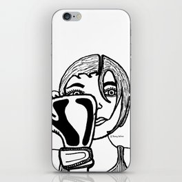 Lady Boxing iPhone Skin