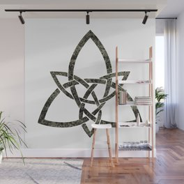 Rustic Celtic Knot Wall Mural
