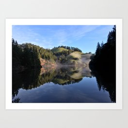 Perfection Reflection Art Print