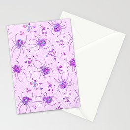 Sugar Spiders Stationery Cards