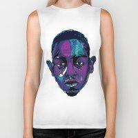 kendrick lamar Biker Tanks featuring Control - Kendrick Lamar by SmartyArt Chick