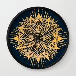 Bright lotus Wall Clock