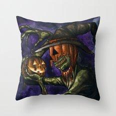 Hobnobbin' with a Goblin Throw Pillow