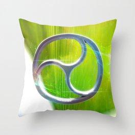 Sacred Geometry - Trinity 03 Throw Pillow