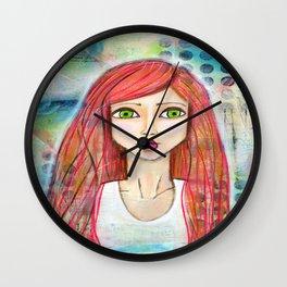 """""""Jenna""""  Wall Clock"""