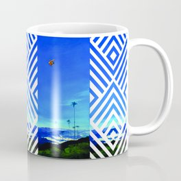 Diving Angel Coffee Mug