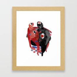 lovers-Help a long distance relationship !!!!!!!!! Framed Art Print