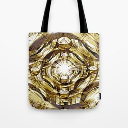 In Hadron Collider. Tote Bag