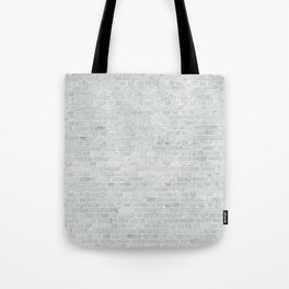 White Washed Brick Wall Stone Cladding Tote Bag