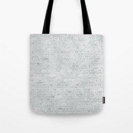 White Washed Brick Wall Stone Cladding Tote Bag