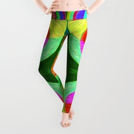 looking out from the inside 8 Leggings