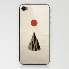 Minimal Mountains iPhone & iPod Skin