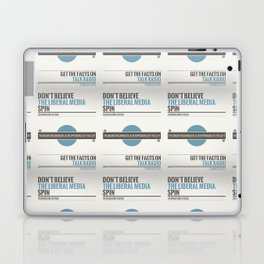 Don't Believe The Liberal Media Laptop & iPad Skin
