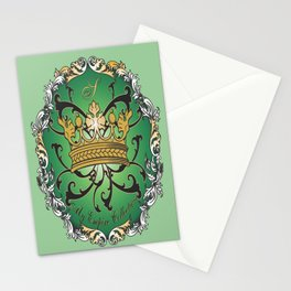My Empire Collection Summer Set mint green Crown Stationery Cards