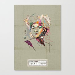 Etta James - Soul Sister | Soul Brother Canvas Print