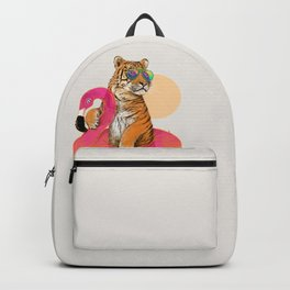 Chillin (Flamingo Tiger) Backpack