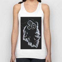 gears of war Tank Tops featuring Gears by Kendra Martin