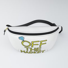 OFF THE MARKET Wedding Bachelor Party Bride Gift Fanny Pack
