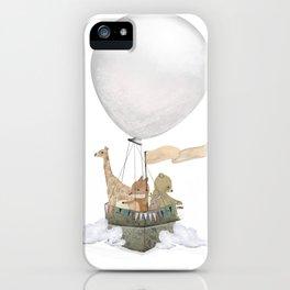 a little balloon adventure iPhone Case