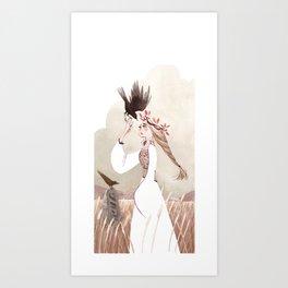 Messenger Art Print