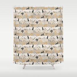 Cat & Mouse Shower Curtain