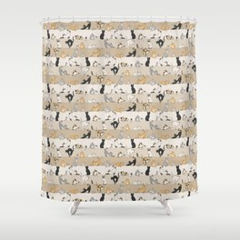 Cat & Mouse Shower Curtain