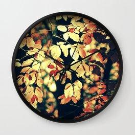 Autumnally Wall Clock