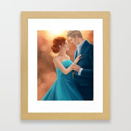 The Selection - America and Maxon Framed Art Print