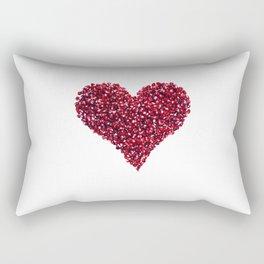 Pomegranate Heart Rectangular Pillow
