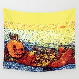 Terrarium Otter Wall Tapestry